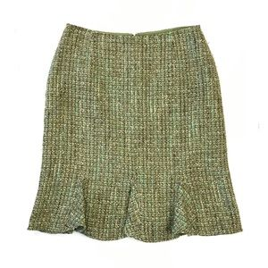 Emma James Flared Hem Tweed A Line Skirt Size 12